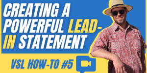 Creating Powerful Lead-in Statements